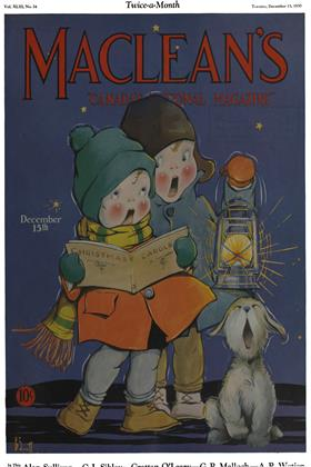 Cover for the December 15 1930 issue
