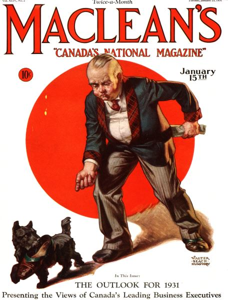 Issue: - January 1931 | Maclean's