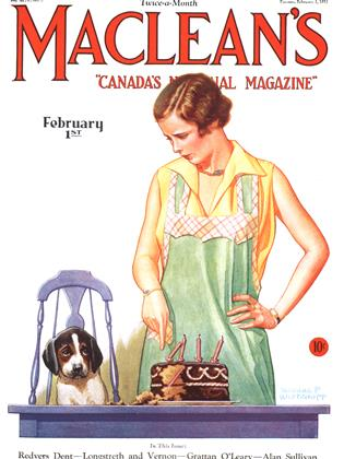 Cover for the February 1 1931 issue