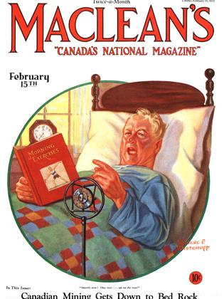 Cover for the February 15 1931 issue