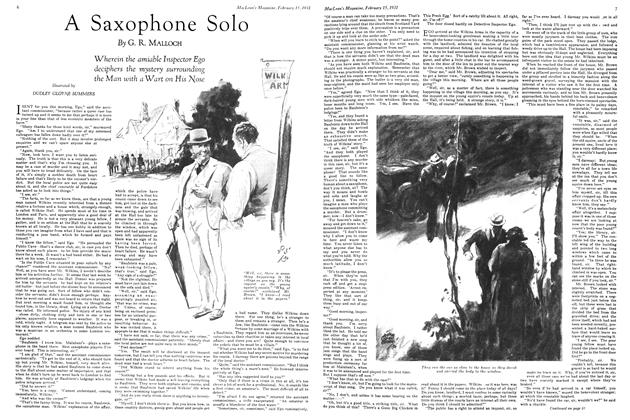 A Saxophone Solo