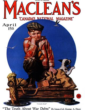Cover for the April 15 1931 issue