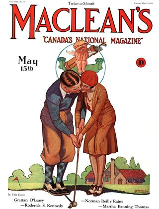 Cover for the May 15 1931 issue