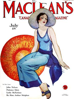 Cover for the July 1 1931 issue