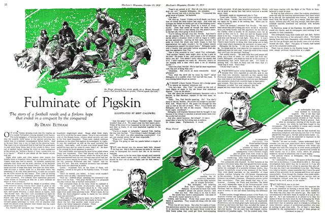 Fulminate of Pigskin