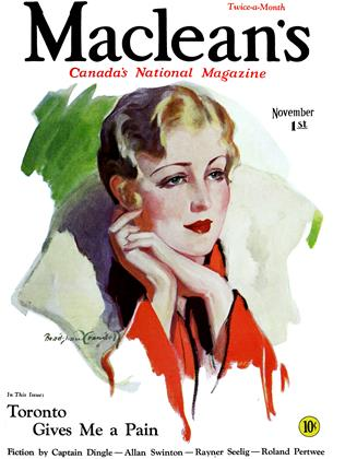 Cover for the November 1 1931 issue