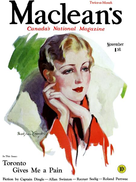 Issue: - November 1st 1931 | Maclean's
