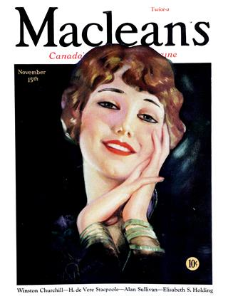 Cover for the November 15 1931 issue