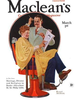 Cover for the March 1 1932 issue