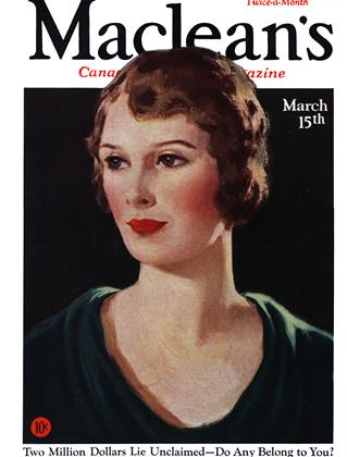 Cover for the March 15 1932 issue