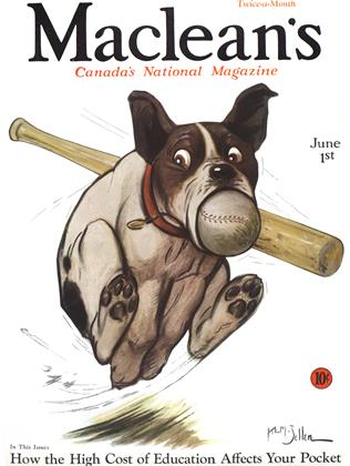 Cover for the June 1 1932 issue