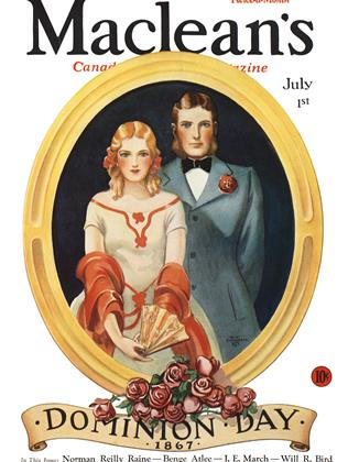 Cover for the July 1 1932 issue