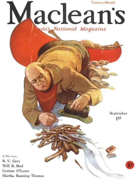 Issue: - SEPTEMBER 1st, 1932 | Maclean's