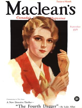 Cover for the September 15 1932 issue