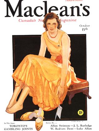 Cover for the October 15 1932 issue