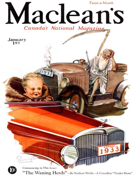 Issue: - January 1st 1933 | Maclean's