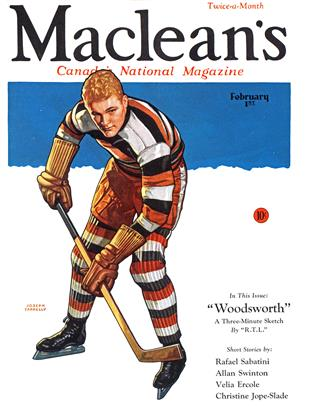 Cover for the February 1 1933 issue