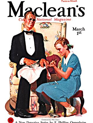 Cover for the March 1 1933 issue