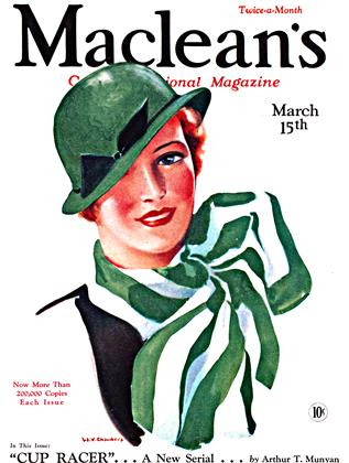 Cover for the March 15 1933 issue