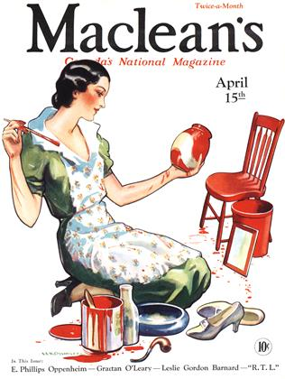 Cover for the April 15 1933 issue