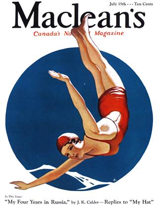 Cover for the July 15 1933 issue