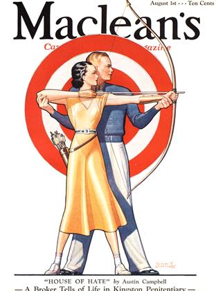Cover for the August 1 1933 issue