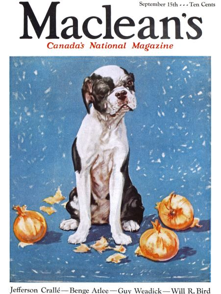 Issue: - September 1933 | Maclean's