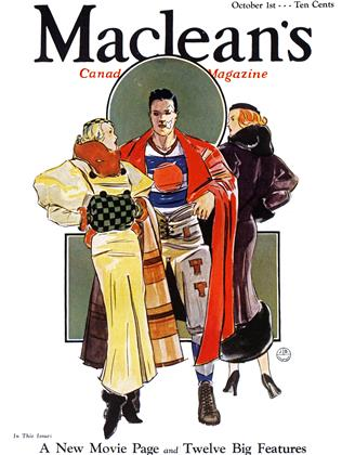 Cover for the October 1 1933 issue