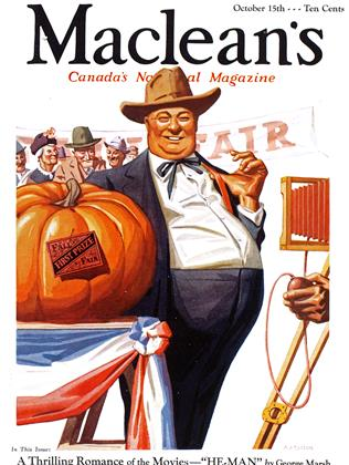 Cover for the October 15 1933 issue