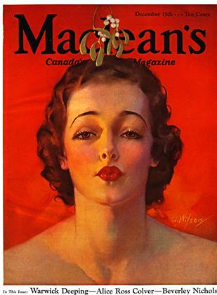 Cover for the December 15 1933 issue