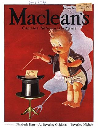 Cover for the January 1 1934 issue