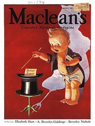 JANUARY 1, 1934 | Maclean's