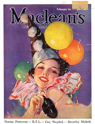 FEBRUARY 1, 1934 | Maclean's
