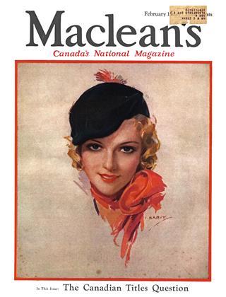 FEBRUARY 15, 1934 | Maclean's
