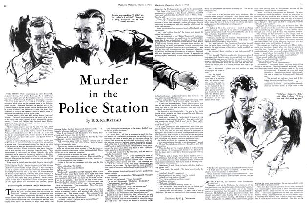 Murder in the Police Station