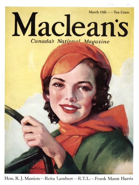 Issue: - March 15th 1934 | Maclean's