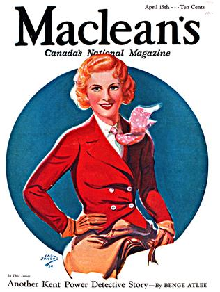 Cover for the April 15 1934 issue