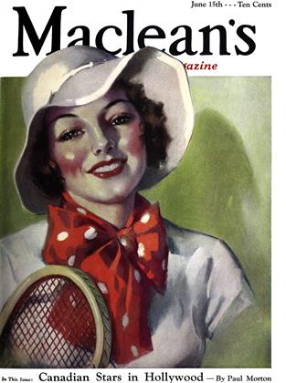 Cover for the June 15 1934 issue