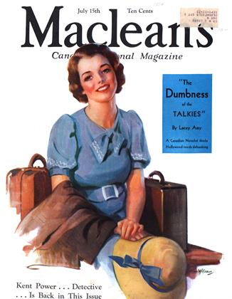 Cover for the July 15 1934 issue
