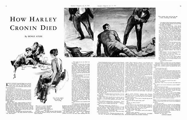 How HARLEY CRONIN DIED