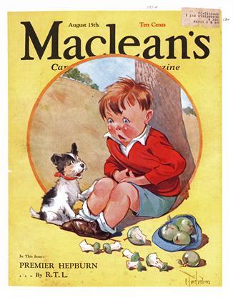 August 15, 1934 | Maclean's