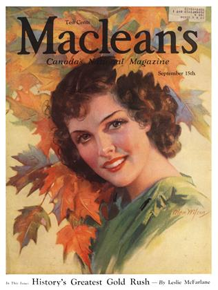 Cover for the September 15 1934 issue
