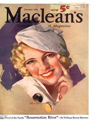 Cover for the October 15 1934 issue