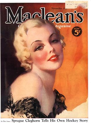 Cover for the November 15 1934 issue
