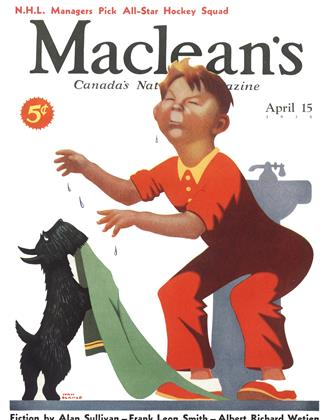 Cover for the April 15 1935 issue