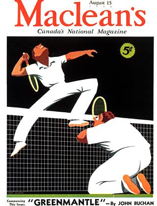 Cover for the August 15 1935 issue