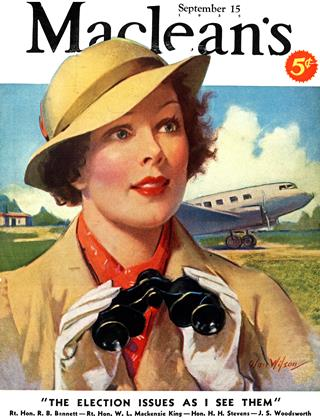Cover for the September 15 1935 issue