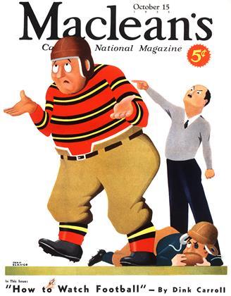 OCTOBER 15, 1935 | Maclean's