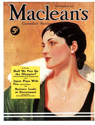 Cover for the November 1 1935 issue
