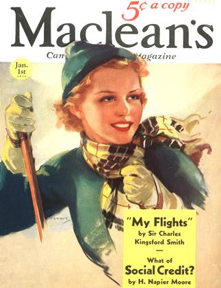 Cover for the January 1 1936 issue